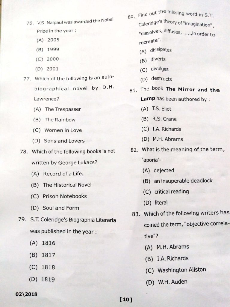 Phd question paper - PHD ENTRANCE EXAM QUESTION PAPERS FOR