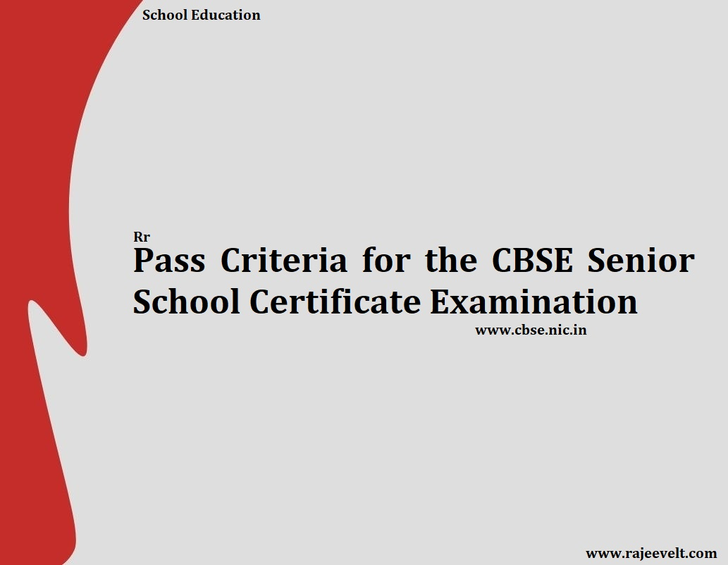 cbse-passing-criteria-rajeev-ranjan