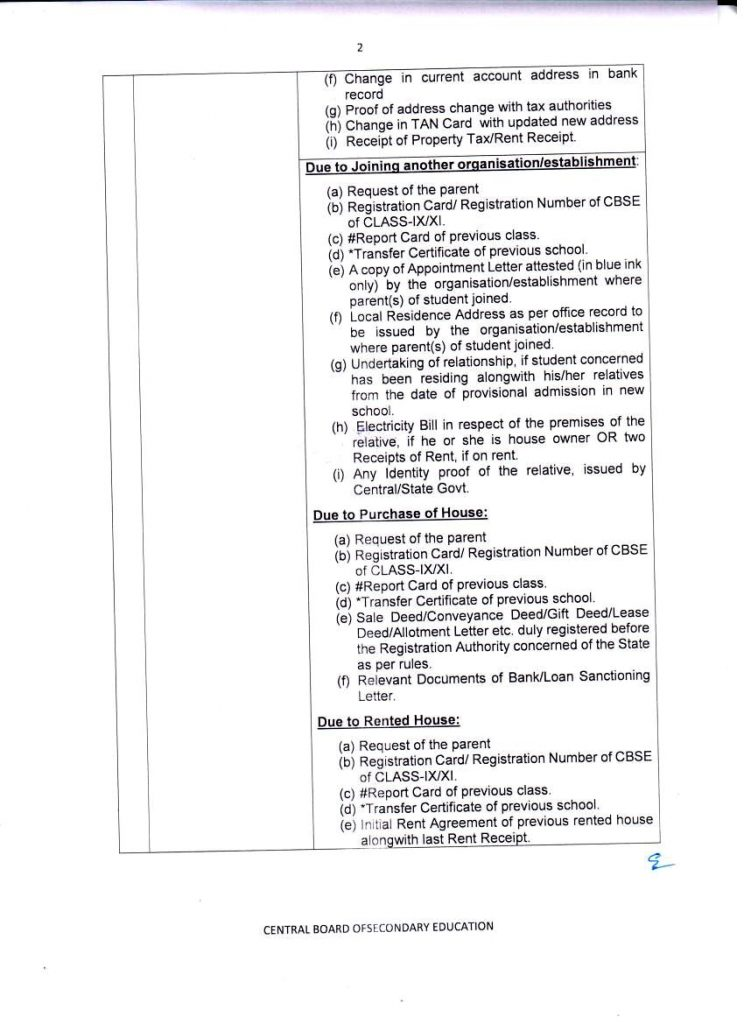 Direct Admission in Class X and XII in CBSE Affiliated Schools Norms Guidelines in CBSE Bye Laws- Examination Bye Laws-rajeevelt