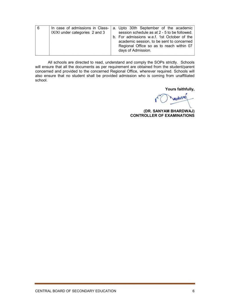 Admission-in-9th-and-11th-in-CBSE-Affiliated-Schools-on-account-of-Change-of-School-Circular-18-July-2019-Rajeev Ranjan
