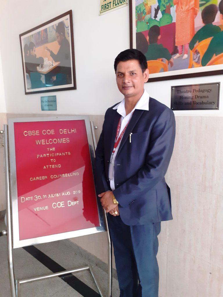 Rajeev Ranjan Master Trainer in Career Counselling CBSE New Delhi