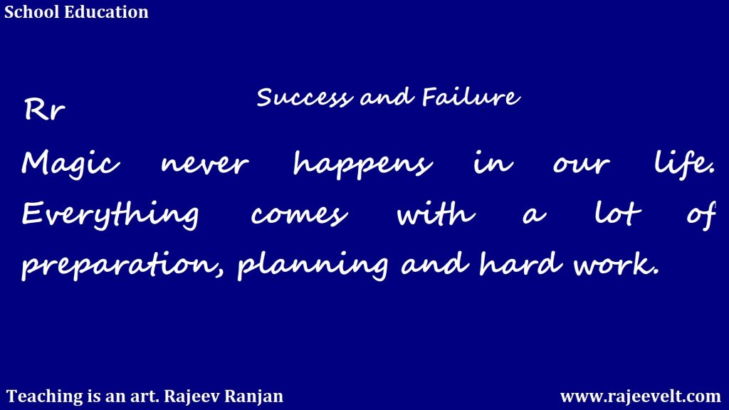tips for success-how to overcome fear and failure -rajeev ranjan