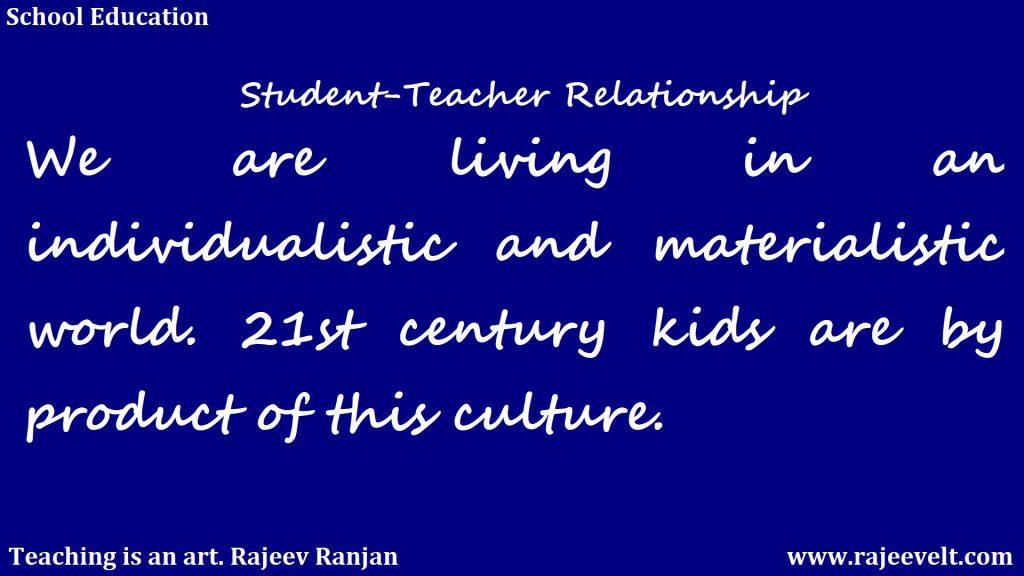 student teacher relationship-teacher student relationship-school education