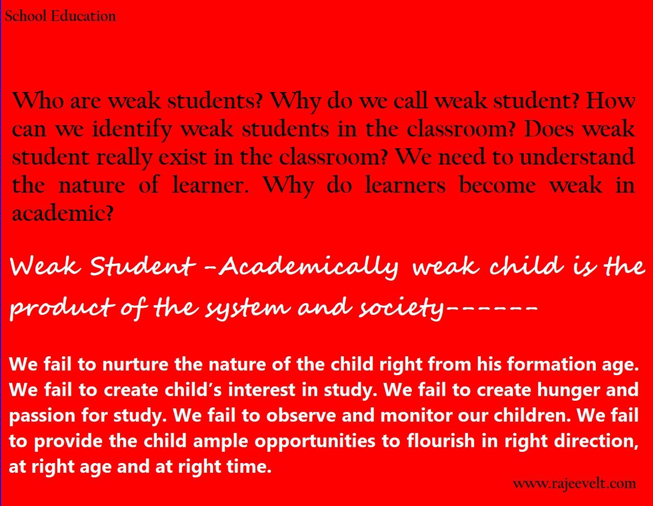 Weak Student