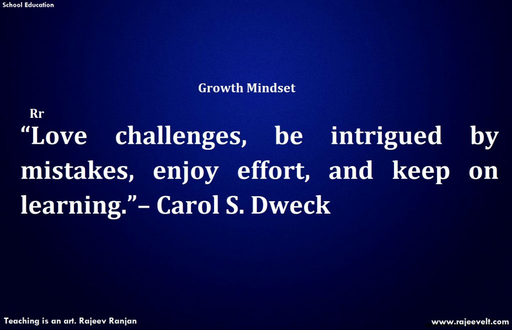 Challenges -Fixed Mindset and Growth Mindset