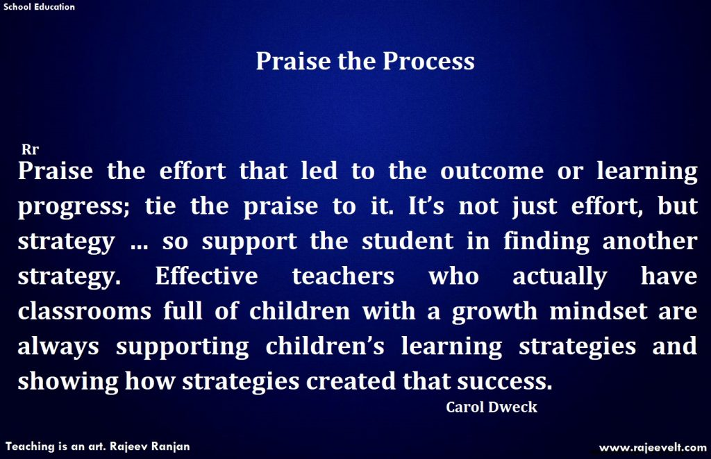 Growth Mindset-Praise