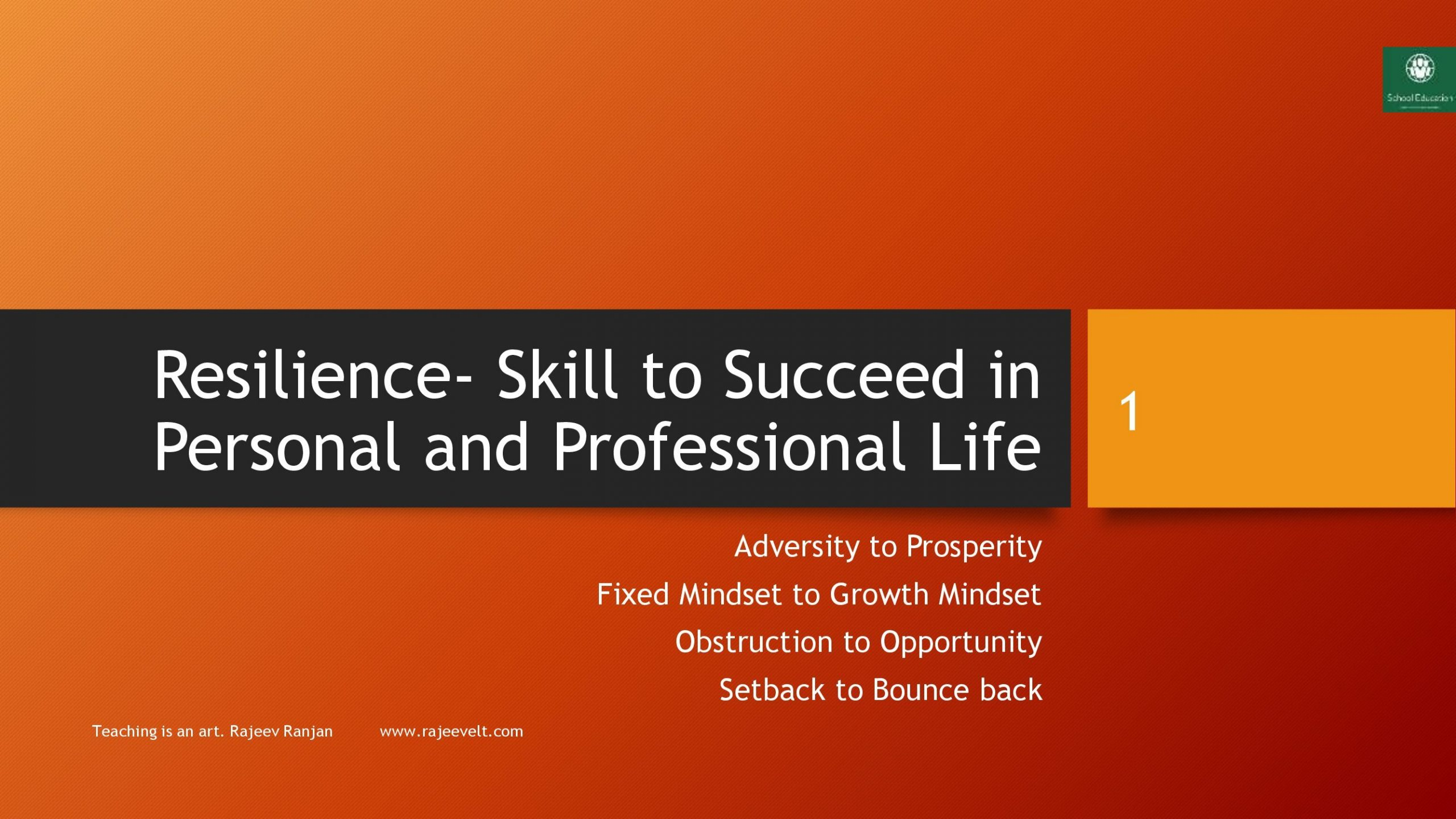 esilience-Skill-to-Succeed-in-Personal-and-Professional-Life-rajeevelt