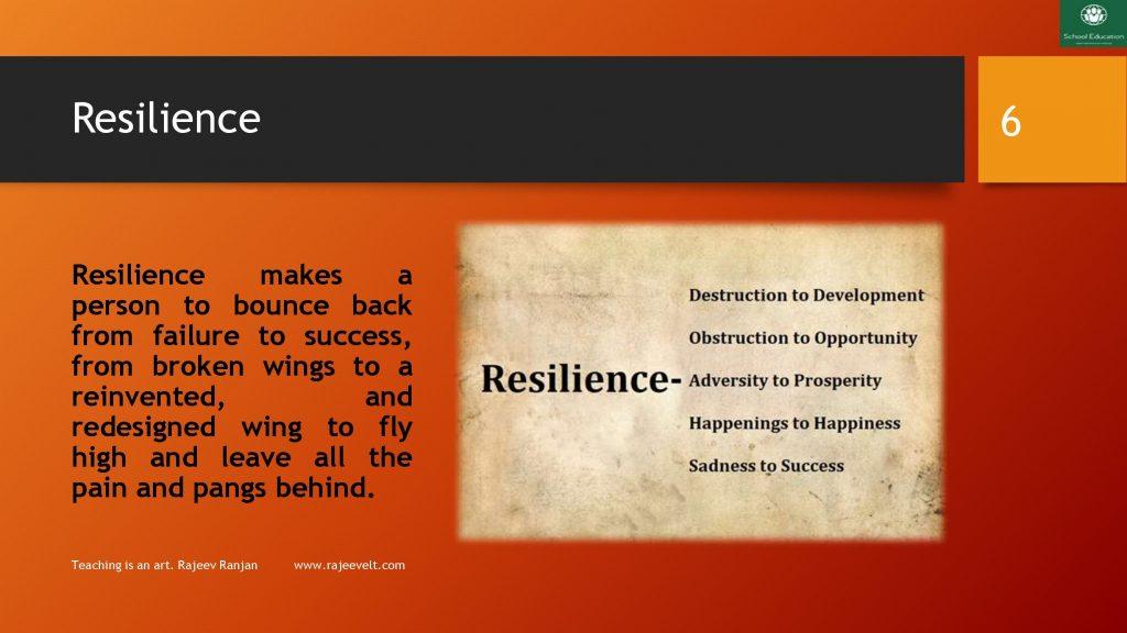 Resilience skill rajeevelt