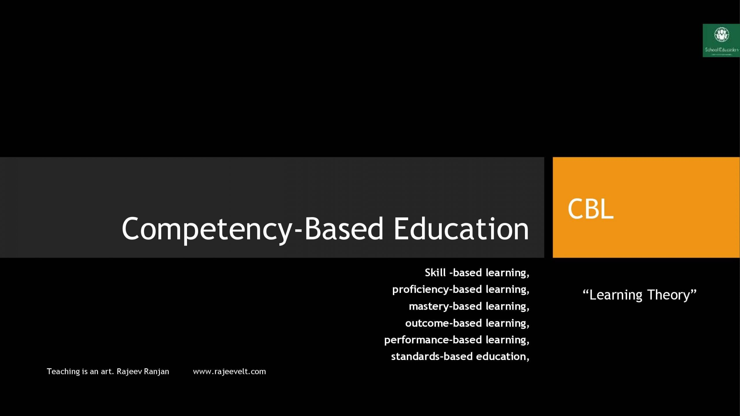 competency based education-rajeevelt.com