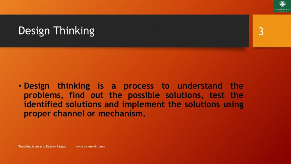 Design Thinking- Skill to Succeed in Personal and Professional Life_rajeevelt
