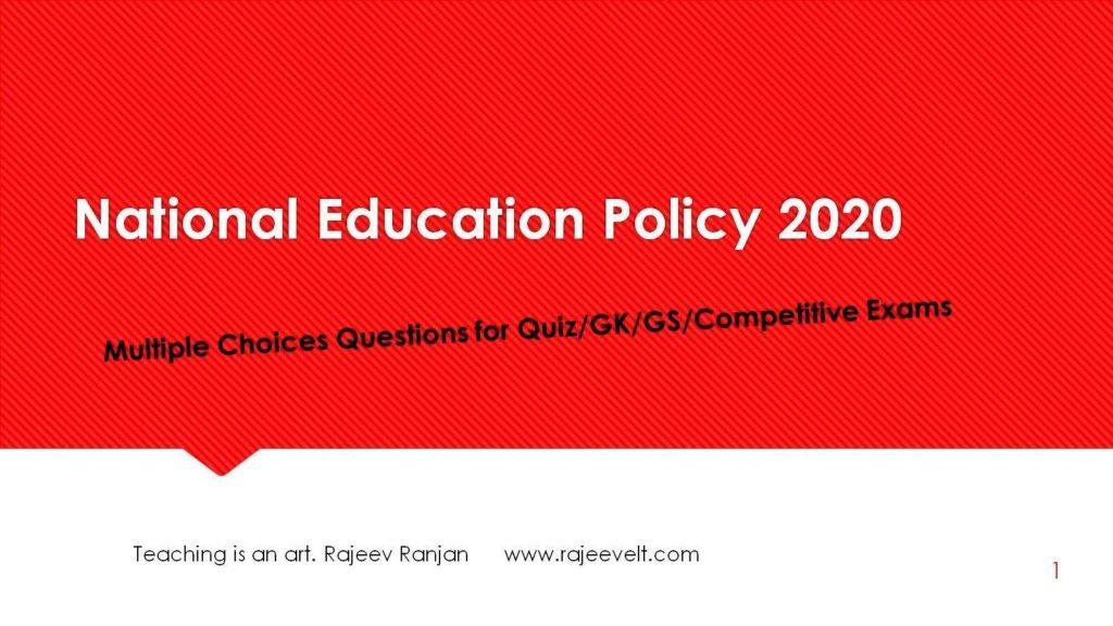 MCQs-FAQs-on-National-Education-Policy-2020-Set-5-rajeevelt