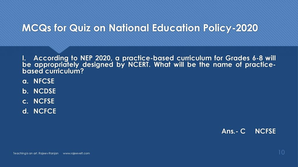 Questions on National Education Policy 2020-rajeevelt