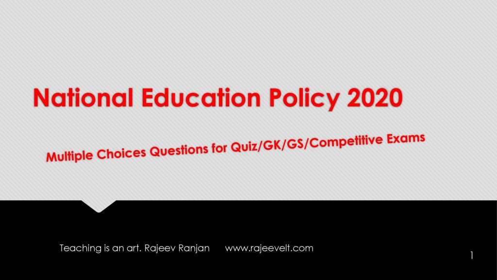 Multiple-Choice-Questions-National-Education-Policy-2020-Set-10-rajeevelt