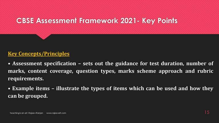 cbse assessment framework 2021-rajeevelt