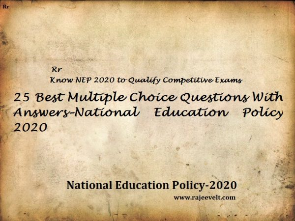 national education policy 2020-rajeevelt
