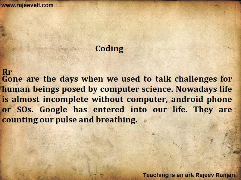 Coding-21st century skill