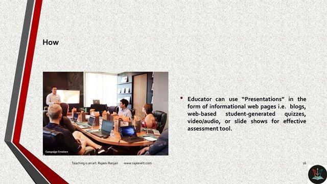 Presentations-Online Learning Assessment