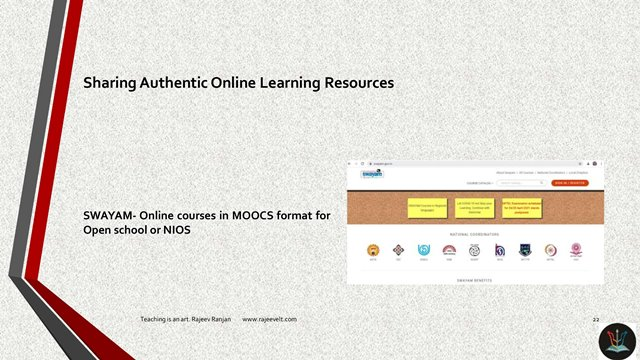 Online Learning Resource-SWAYAM